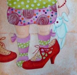 """""""Les chaussures de maman"""" terminé"""