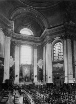 autel latéral : la Vierge de Lourdes