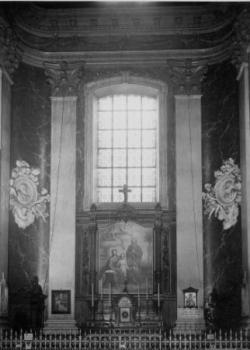 autel latéral : la Sainte Famille