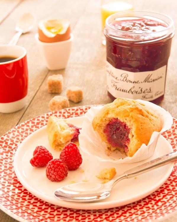 A table recette muffins coeur de framboise elisa les bons tuyaux - A bon verre bonne table recettes ...
