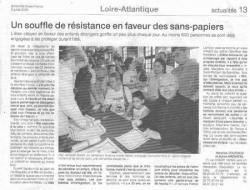 Dimanche Ouest-France le 2 juillet 2006