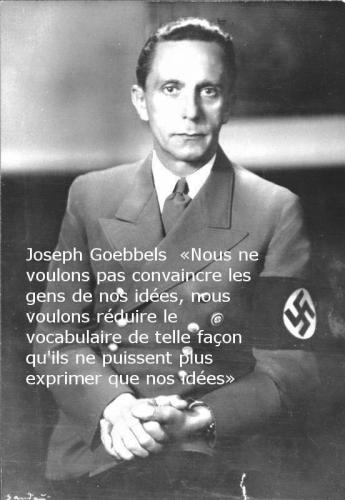 le totalitarisme et sa  u0026quot novlangue u0026quot    c u0026 39 est maintenant   l u0026 39 etoile noire