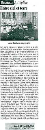 Le Républicain - 28/07/05