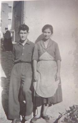 FRANCESCO CAREDDA et sa soeur Maria Grazia
