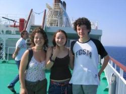 Mélanie, Clara et Charly