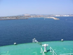 Arrivée à Porto Torrès