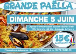 2016 - Paëlla d'amitié française au Faron