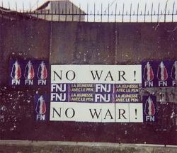 2003, contre la guerre