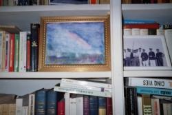 Livres, aquarelle, photo...
