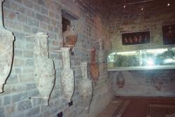 Intérieur du musée de Tauroentum