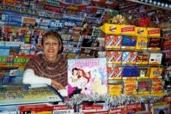 La dame du kiosque