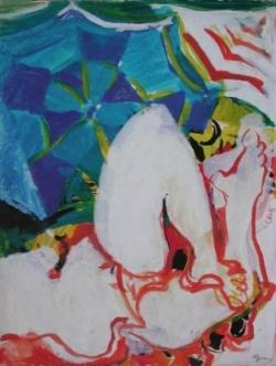 La grande baigneuse blanche