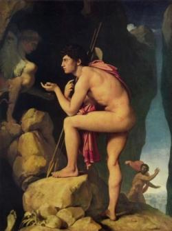Oedipe devant le Sphinx