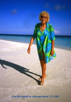 Sur une plage aux Maldives