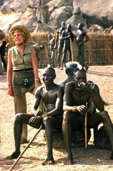 Au Soudan dans un village Nuba