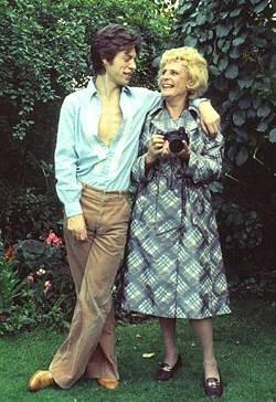 Avec Mick Jagger