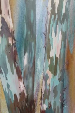 Eucalyptus - Technique mixte - 53x73