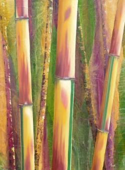 Bambou spectabilis - Technique mixte - 73x54
