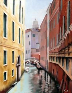 Venise - Huile - 50x40