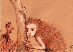 l'enfant hérissonl'arbre et le dindon stupéfait