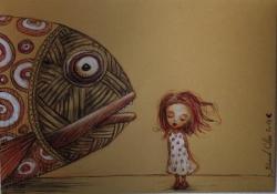 poisson et enfant