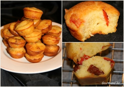 Mini Cake Poivrons Chorizo