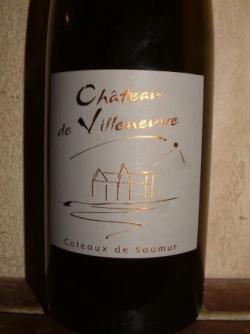 COTEAUX DE SAUMUR 2003 CHATEAU DE VILLENEUVE