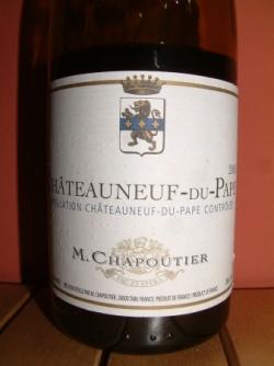 CHAPOUTIER 2005