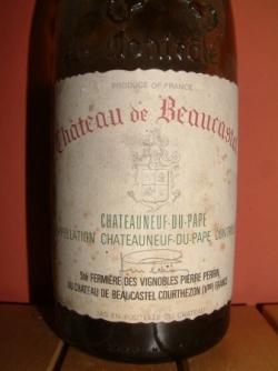 CHATEAU DE BEAUCASTEL 93