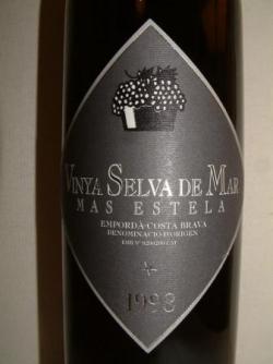 VINYA SELVA DE MAR MAS ESTELA 98