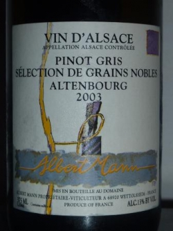 PINOT GRIS ALTENBOURG SGN 2003