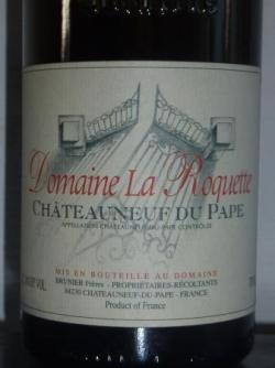 Chateauneuf Domaine de la Roquette 2000