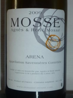Savennières Arena 2009 de chez Mosse