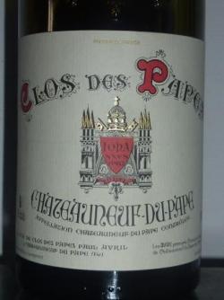 Chateauneuf Clos des Papes 2009