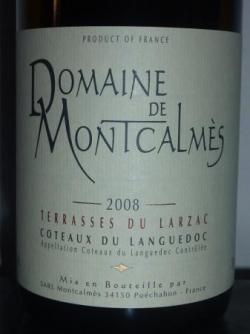 Domaine de Montcalmes 2008