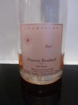 Rosé extra brut 2008 Francis Boulard