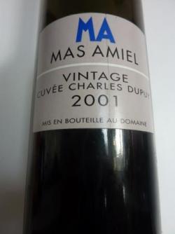 Maury Charles Dupuy 2001 de Mas Amiel