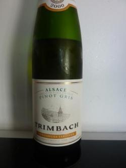 Pinot Gris 2000 de Trimbach