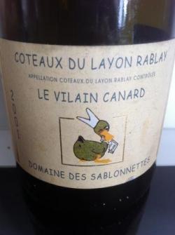 Layon Rablay Le Vilain Canard 2001