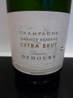 Champagne Grande réserve extra Brut de Dehours