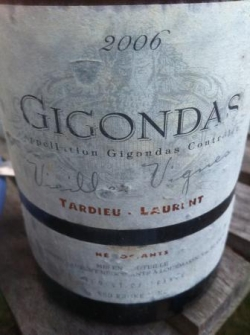 Gigondas 2006 Tardieu Laurent