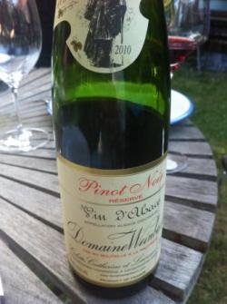 Pinot Noir Reserve 2010 domaine Weinbach
