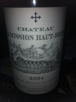 Chateau Mission Haut Brion 2004