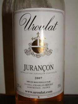 JURANCON UROULAT 2007 DE CHARLES HOURS