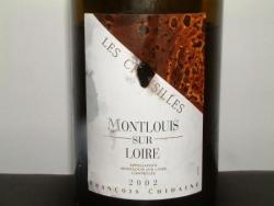 MONTLOUIS LES CHOISILLES 2002 DE CHIDAINE