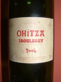 OHITZA 2004 DE CHEZ BRANA