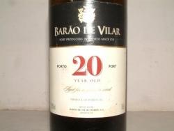 PORTO BARAO DE VILLAR 20 ANS