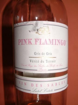 PINK FLAMINGO GRIS DE GRIS DE LISTEL