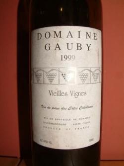 LES VIEILLES VIGNES BLANC 1999 DE CHEZ GAUBY