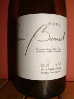 BARRAL BLANC 2005